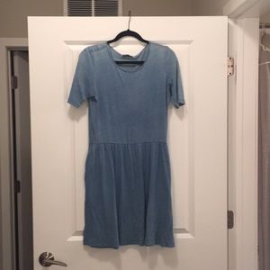 Gap blue dress
